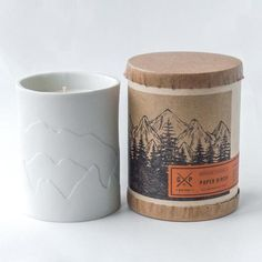 A fresh cut pine branch, fragrant with sap. soy candle with cotton wick. Ivory porcelain tumbler packaged in kraft tube. Tumbler hand cast by local Philadelphian makers. Burn Time: hours Hand-poured in small batches. Hand-signed by the artisan. Blue Candles, Soy Candles, Pine Branch, Aromatherapy Candles, Hand Cast, Candle Holders, Feather, Artisan, Porcelain
