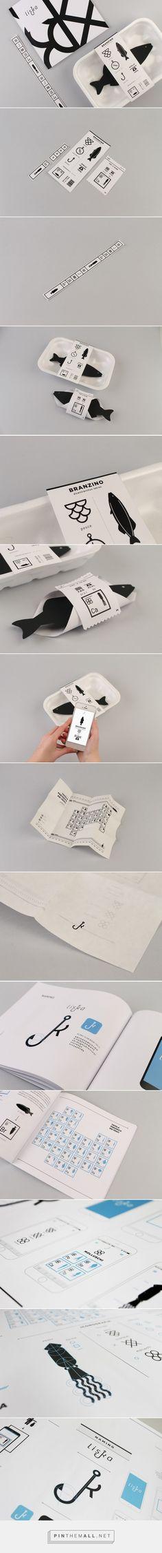 Liska Fish products packaging concept design by Stefania Borasca (Italy) - http://www.packagingoftheworld.com/2016/04/liska-student-project.html