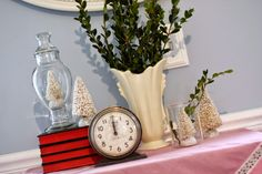 Use What You Have Christmas decor. #thrifty #fresh #natural