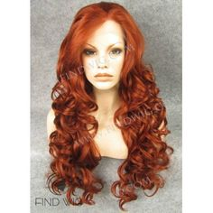 Wavy Red / Ginger Long Wig. Jessica Rabbit Wig  Superior Quality Lace Wigs for lowest price ever! From $62 to $68 per Wig  www.FindWIG.com  No Tax! No PayPal Fee! Shipping within US - 48 hours!  #findwig #wig #wigs #wigsbycc #wigstore #wigsforshow #wigsdirectsale #lacewig #lacewigs #lacefront #lacefrontwig #drag #dragwig #dragrace #dragqueen #hair #hairsalon #hairstyle #hairsupply #beautysalon #rupaul #rpdr #rupauldragrace #travesty #soyouthinkyoucandrag #show #instadrag #instaqueen…