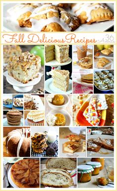Oh my! Check out these delicious Fall Recipes at the36thavenue.com Yum!