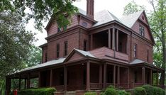 The Oaks, Booker T. Washington's home at the Tuskegee Institute, was designed by Robert R. Taylor and built in 1899