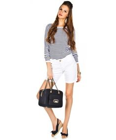 Nice & Crazy » Jane Short Blanco de Tommy Hilfiger