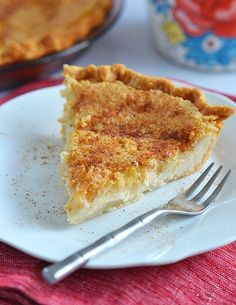 Sugar Cream Pie - super simple