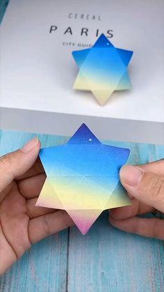 Cool Paper Crafts, Paper Crafts Origami, Diy Paper, Fun Crafts, Summer Crafts, Ag Doll Crafts, Math Crafts, Diy Crafts Hacks, Diy Crafts For Gifts
