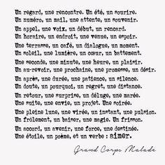 Paroles et traduction de la chanson «Rencontres» par Grand Corps Malade