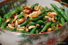 A Taste of Barrio Chino: Green Beans with Peanuts and Chile de Arbol