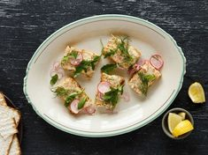 Chefs Eli and Max Sussman make a rich, modern gefilte fish terrine by baking salmon in a loaf pan, instead of poaching the traditional pike-perch blend.