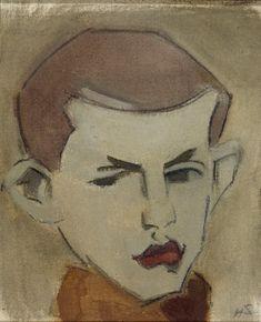 Helene Schjerfbeck, Abstract Portrait Painting, Portrait Art, Painting & Drawing, Portraits, Chur, Montage Photo, Vintage Artwork, Sketchbook Inspiration