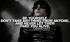 6 Most Amazing MCR Quotes  | #MyChemicalRomance #Mcr #Gerard #Way #GerardWay #Mikey #MikeyWay #Frank #Lero #FrankLero #Ray #Toro #RayToro #Quotes