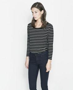 CHOOSE organic! Even Zara has great organic cotton basics #fashiontakesaction