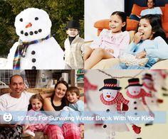 Winter Break Activities for Families