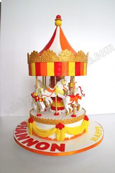Celebrate with Cake!: Carousel Cake