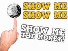 Show Me the Money -- identifying coins, and conversion of coins (5 pennies makes a nickel)