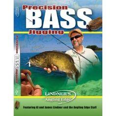 Lindner's Angling Edge Precision Bass Jigging Fishing DVD $14.75