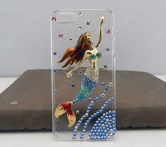 Mermaid phone case  iphone 5 case Flying Fairy  by dnnayding, $22.99