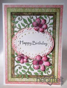 Heartfelt Creations | Leafy Frame Birthday