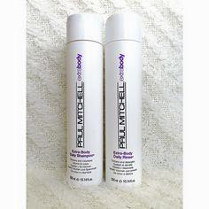 Paul Mitchell Extra Body - Volumizing Shampoo and Conditioner!