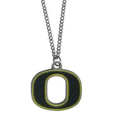 Description: Make a statement with our chain necklaces. The 22 inch chain features a fully cast, metal Oregon Ducks pendant with vivid enameled details. Perfect accessory for game day and nice enough