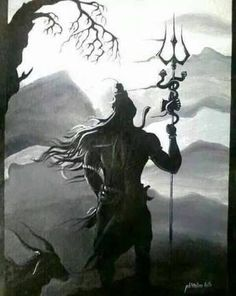 Image result for lord shiva by abhishek singh