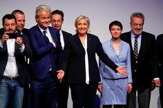 Es war der erste Auftritt der französischen Chefin des rechtsextremen Front National in Deutschland.