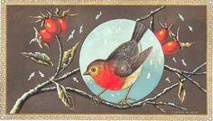 Винтажные рождественские и новогодние открытки ХХ века (57 открыток)