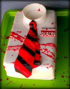 shaun of the dead cake!