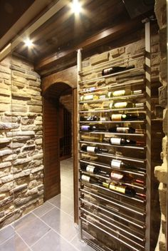 id es de cave vins bouteilles barriques et casiers caves design and bar. Black Bedroom Furniture Sets. Home Design Ideas