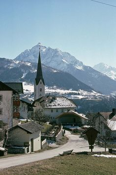 Patsch, A Village in Western Austria, Early April 1978 | Flickr - Photo Sharing!