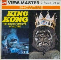 John Kenneth Muir's Reflections on Cult Movies and Classic TV: King Kong GAF Viewmaster King Kong, View Master, Cult Movies, Horror Movies, Retro Toys, Vintage Toys, Os Goonies, My Childhood Memories, 1970s Childhood