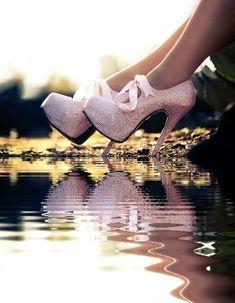 Fab bling platform heels Live a luscious life with LUSCIOUS: www.myLusciousLif...