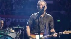 """Bruce Springsteen - INXS' """"Don't Change"""" (Sydney 02/19/14) this time last year"""