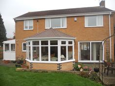 Transform your conservatory with a Tiled Roof Replacement from Abbey & Burton Glass. Warm Roof, Roofing Systems, Conservatory, Shed, Outdoor Structures, Outdoor Decor, Home Decor, Decoration Home, Room Decor