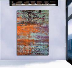 Abstract large painting modern art 40 original by artstudioAreti