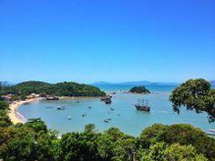 Baía dos Golfinhos em Governador Celso Ramos - SC
