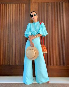 Stylish Outfits, Cool Outfits, Stylish Clothes, Silvia Braz, Smoking, Wide Leg Jeans, Short, Bell Bottoms, Stylists