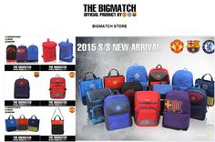 Back to school idea Soccer backpack FC Barcelona backpack by THE BIGMATCH - $64.99  http://www.ebay.com/itm/FC-Barcelona-Outdoor-Backpack-School-Book-Bag-Backpack-FCB-BP5S07-Sackpack-Gift-/301633595090