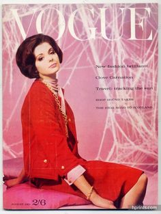 UK Vogue British Magazine 1961 August, Brian Duffy, Claude Virgin, Henry Clarke