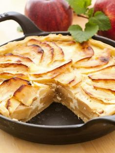 Recette de Tarte aux pommes suisse