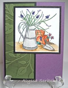 Stampin Up, color pencils
