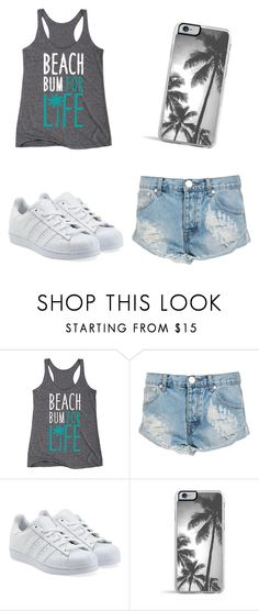 """""""Summer walk"""" by luisaelena-s on Polyvore featuring One Teaspoon, adidas Originals, Zero Gravity, women's clothing, women's fashion, women, female, woman, misses and juniors"""