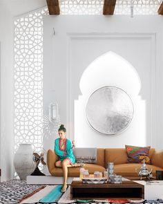 Марокканский интерьер (фото)   #марокканскийстиль