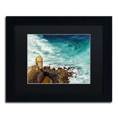 "Trademark Art ""Castillo San Felipe del Morro 12"" by CATeyes Framed Photographic Print Size: 1"