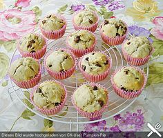 Bananen - Muffins mit Schokolade (Rezept mit Bild) | Chefkoch.de