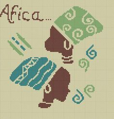 Afrika … – Das Handwerk von kris – stefania bardi – Join in the world of pin Free Cross Stitch Charts, Cross Stitch Baby, Diy Embroidery, Cross Stitch Embroidery, African Artwork, African Prints, African Fabric, Palestinian Embroidery, Modern Cross Stitch Patterns