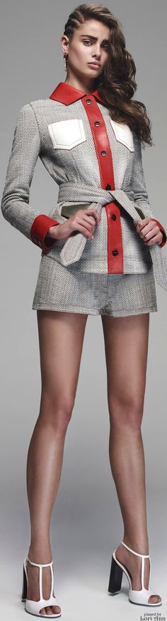 Color/fit idea for new cardi Fendi Resort 2016