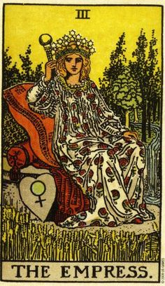 Pamela Colman-Smith: Tarot-Empress