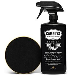 Tire Shine Spray - Best Tire Dressing Car Care Kit for Car Tires after a Car Wash - Car Detailing Kit for Wheels and Tires with included Tire Shine Applicator - by Car Guys Auto Detailing Supplies *** See this great product. (This is an affiliate link) Best Tire Shine, Car Wash Soap, Buy Tires, Car Care Tips, Clean Your Car, Best Tyres, Wheels And Tires, Car Cleaning, Freckles