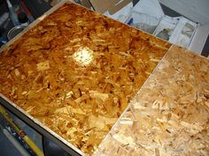 Osb flooring...a great inexpensive modern alternative. Cant wait to build our new home!