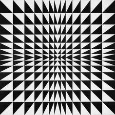 Mario Ballocco - Tensioni formali da instabilità luminosa, 1967